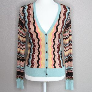 Missoni For Target Chevron Button Up Cardigan S